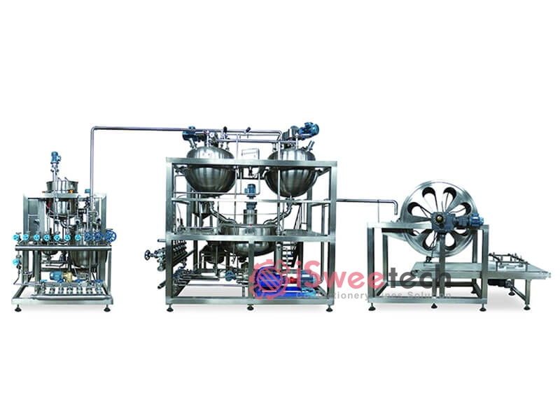 Automatic Toffee Cooking Equipment