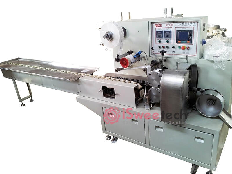 BP280 Flat-type Lollipop Wrapping Machine