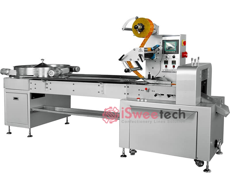 C800 Ball Lollipop Pillow type Wrapping Machine