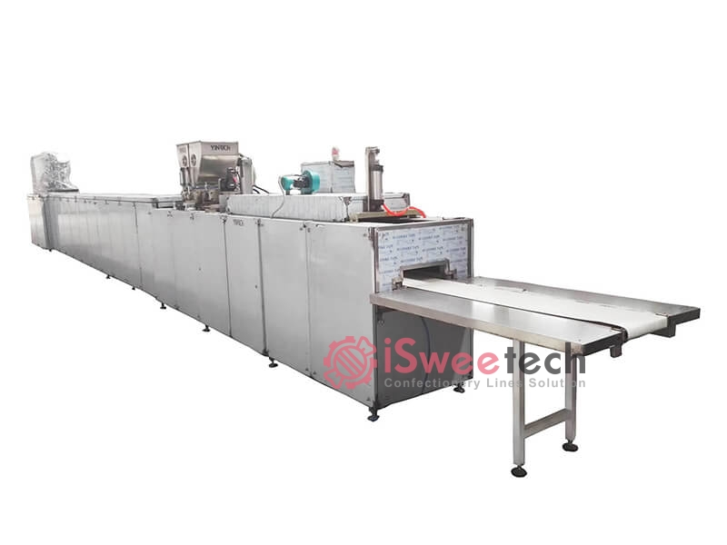 CSD150 Automatic Chocolate Coins Processing Line 1