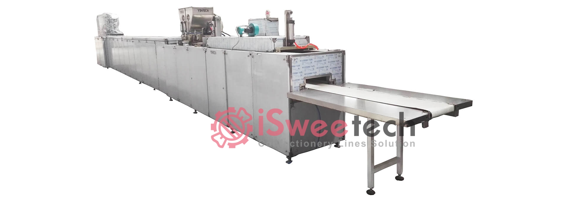 CSD150 Automatic Chocolate Coins Processing Line