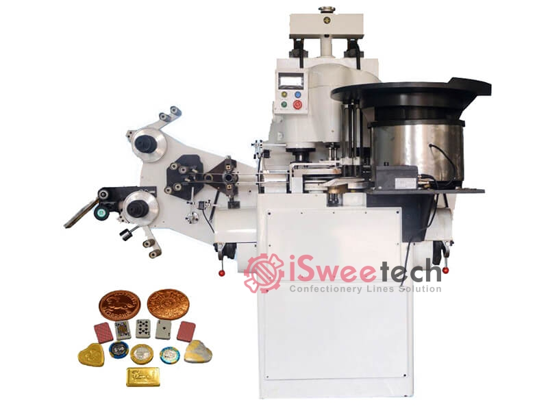 Chocolate Coin Wrapping Machine 3