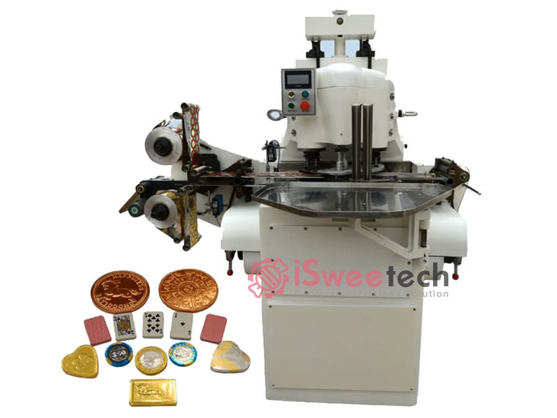 Chocolate Coin Wrapping Machine