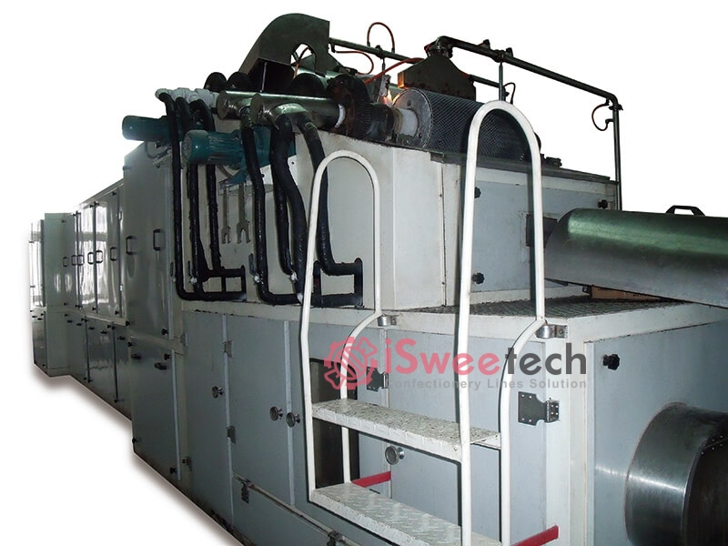Chocolate Rolling & Forming Machine +Cooling + Selecting Combination Unit Plant