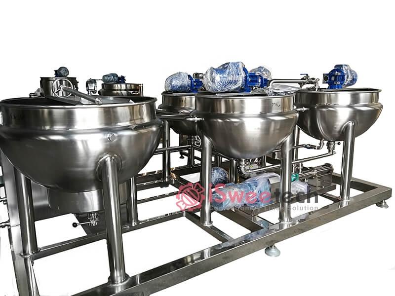 EM Syrup Preparation System Cooling