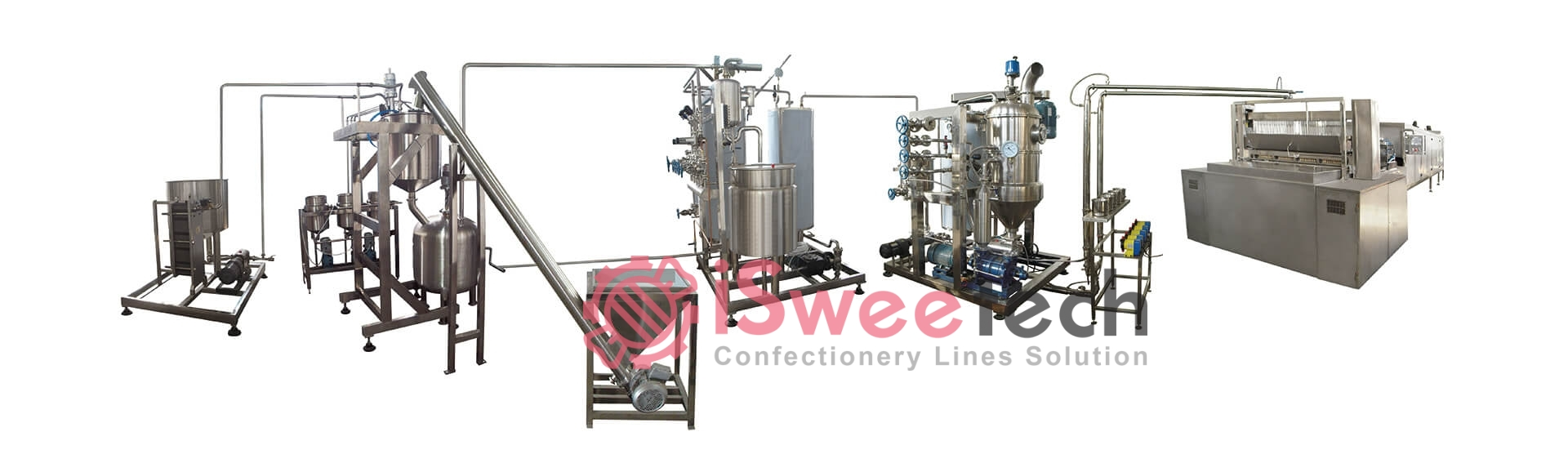 GD hard candy production line