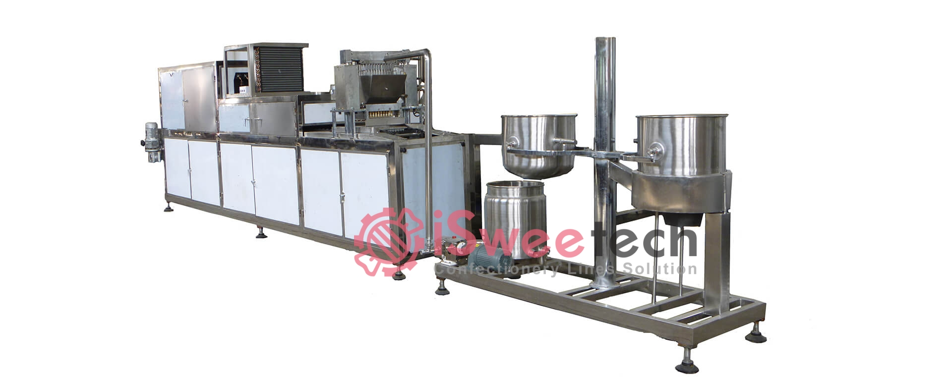 GD50 Small scale multi fuction Candy Process Line