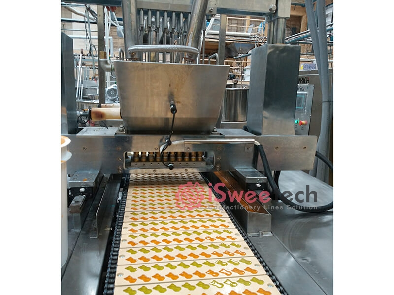 GDQ-Deposited Jelly Gummy Candy Production Line Details (1)