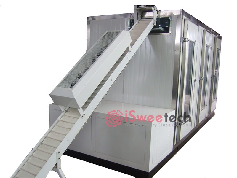 GF200-Cooling tunnel with refrigerator