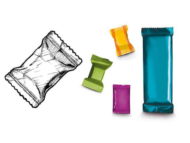Pillow Pack packaging