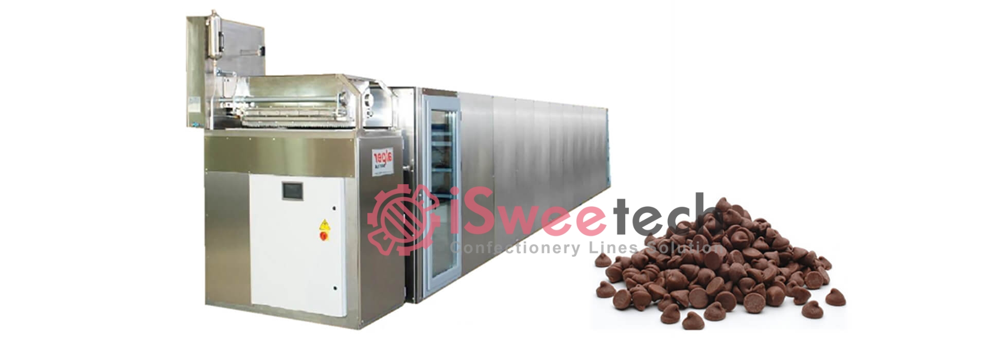 QT series Automatic Chocolate Drops Depositing Line