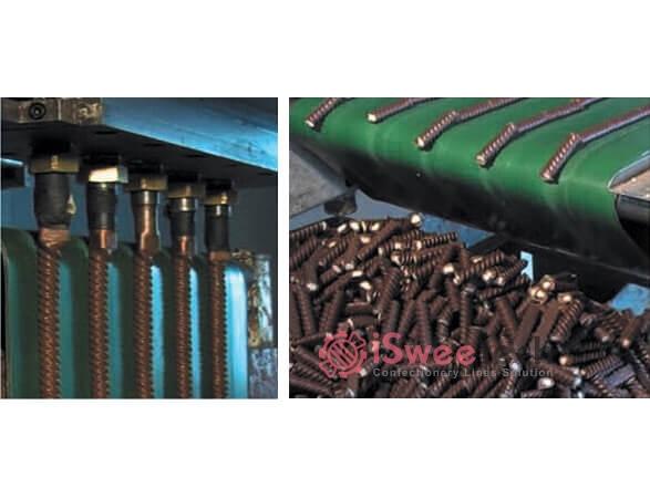 QZ500 Chocolate Sticks Extruder Machine