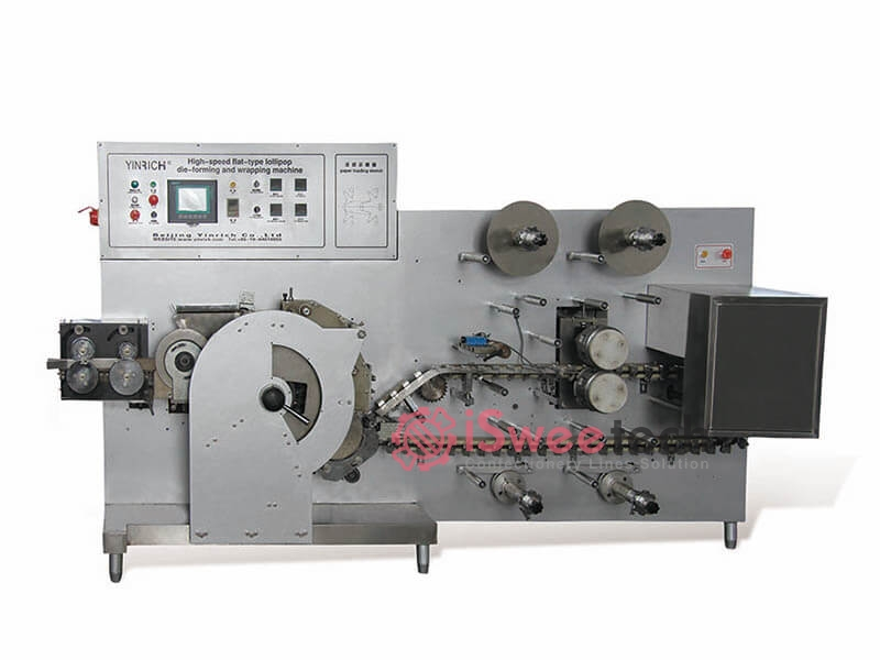TE600 High-speed Flat-type Lollipop Die-forming and Wrapping Machine