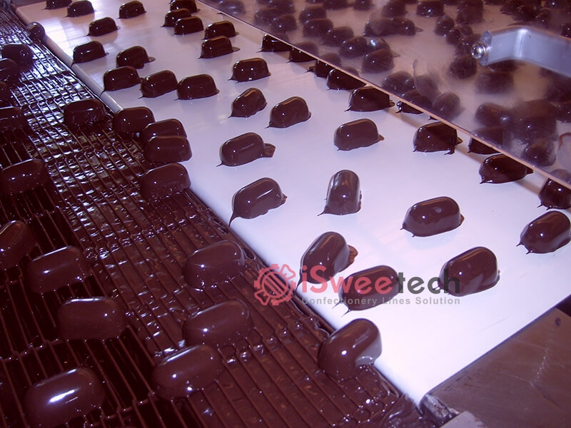 TYJ Series Chocolate Enrobing Machine Producing (2)