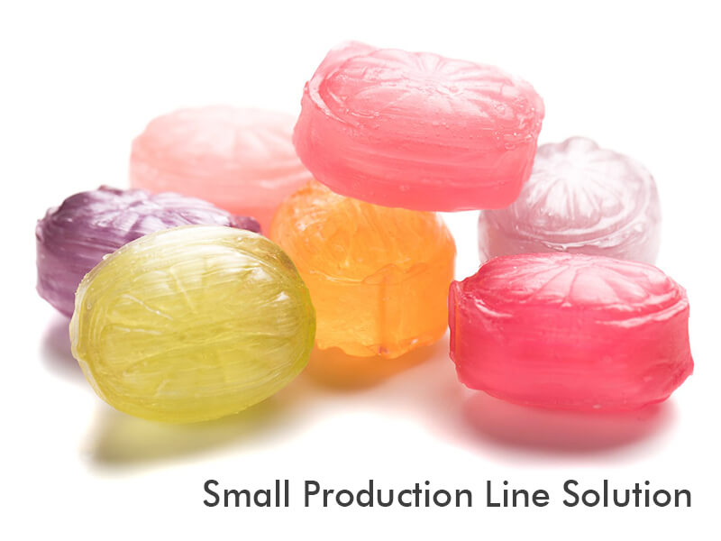 hard candy small production line TG