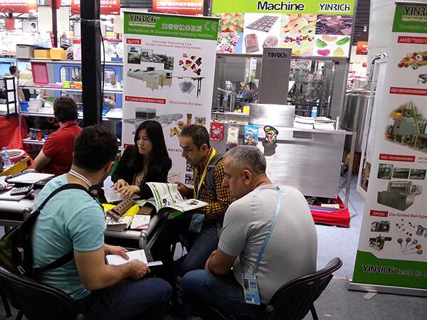 Meet Clients at Exhibition