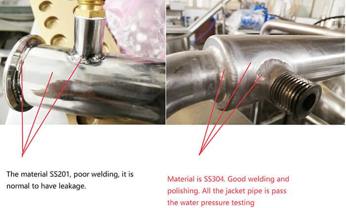 Poor vs Good pipe welding compared