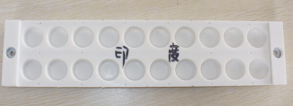 Silicon candy mold