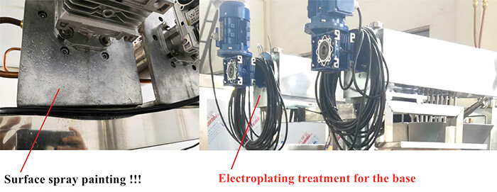 Surface spray painting Vs Electroplating treatment