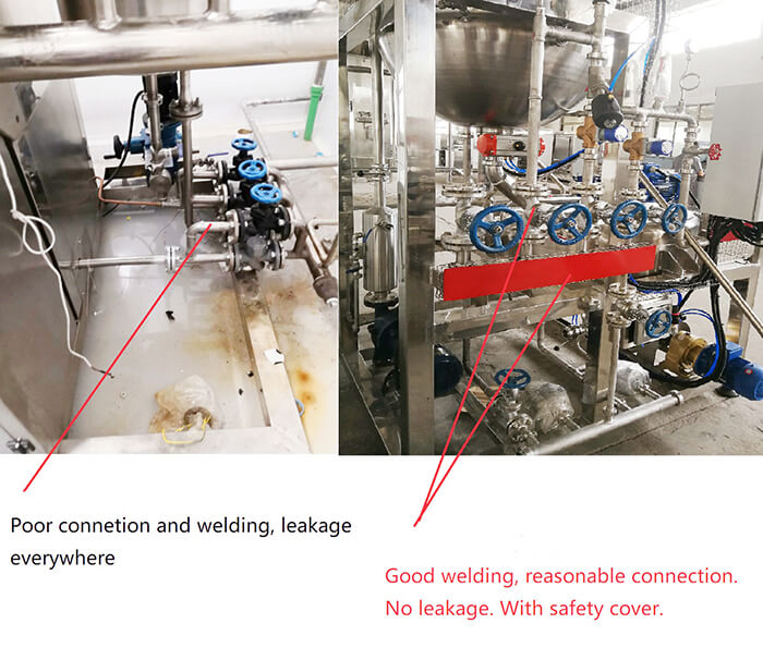 connection and welding compare