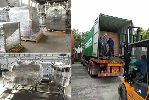 jelly making machine shipping photo