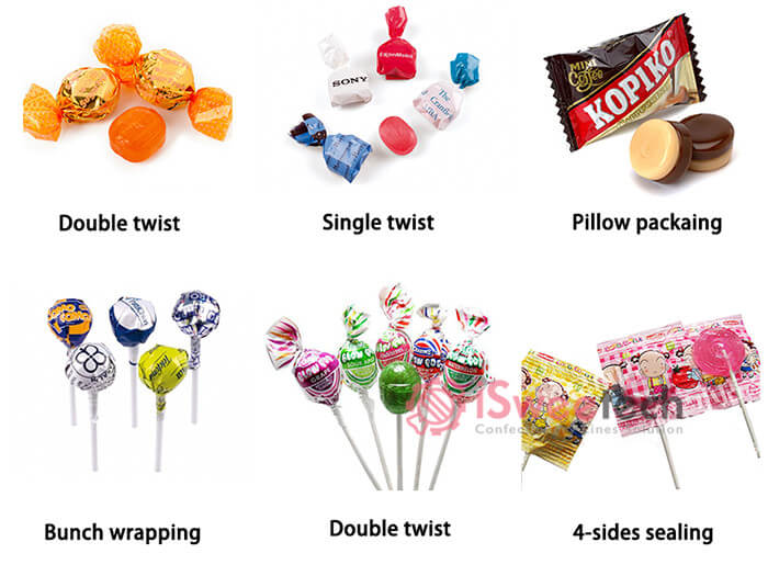 wrapping types