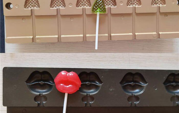 2D Flat lollipop molds