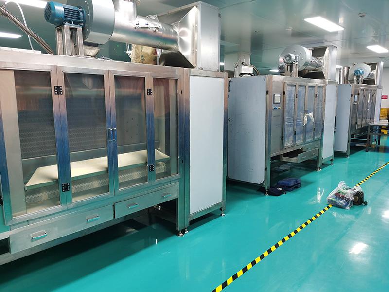 High Capacity Chocolate Belt coater Belt coating machine isweetech
