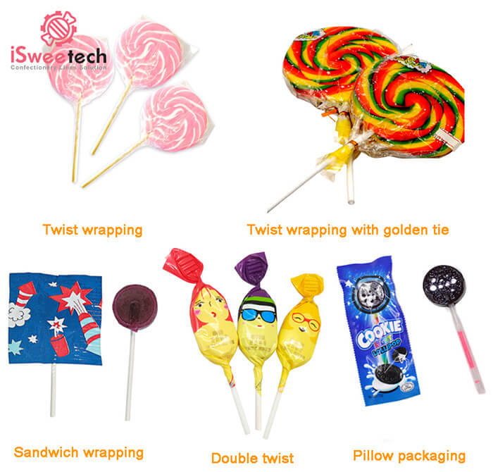 flat lollipop wrapping solutions